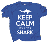 WC736K - T-Shirts, Youth - Keep Calm Shark