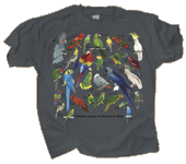 WC748T - T-Shirts, Adult - Ultimate Parrot Guide