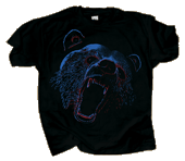 WC753T - T-Shirts, Adult - Extreme Black Bear