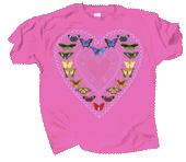 WC756K - T-Shirts, Youth - Butterfly Sweetheart