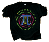 WC773T - T-Shirts, Adult - Pi Spiral