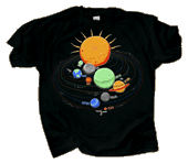 WC788K - T-Shirts, Youth - Solar SYstem Glo