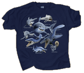 WC794K - T-Shirts, Youth - Monsters of the Deep